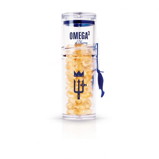 Omega3 Norway Bottle white