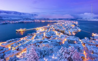 Ålesund Winter Wonderland, production of Omega 3