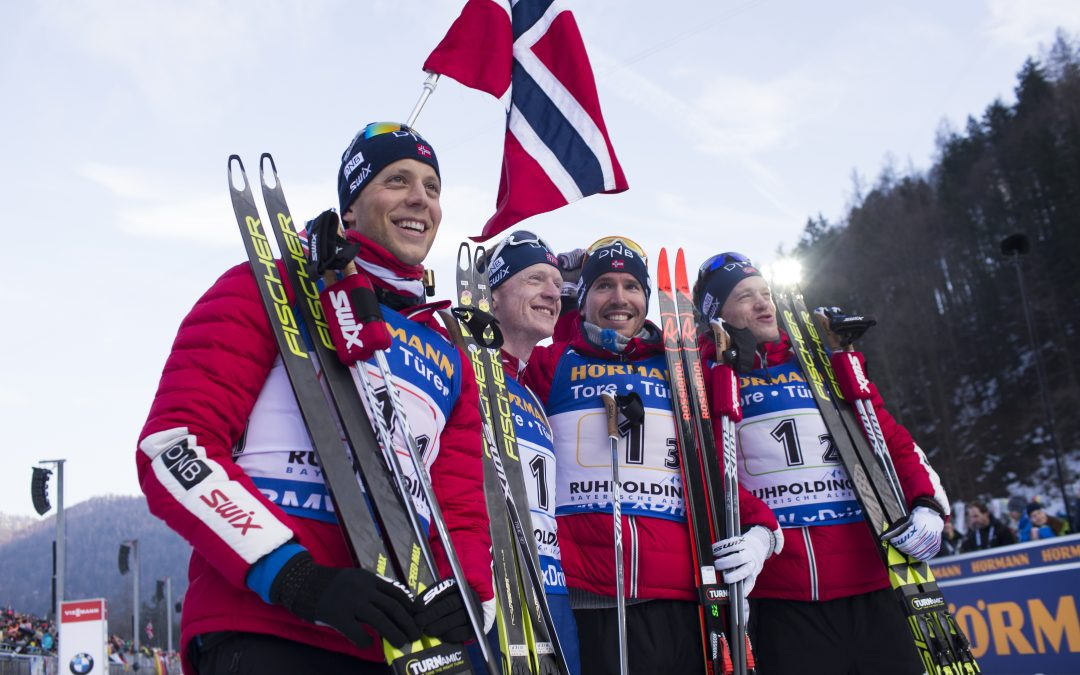 Norway Omega ambassador Tarjei Bø, in Ruhpolding, Germany – IBU World Cup Biathlon