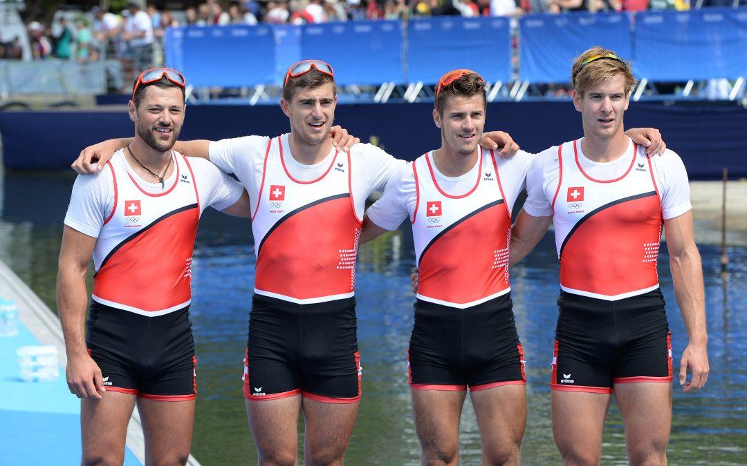 Barnabé Delarze Swiss Olympic Rower